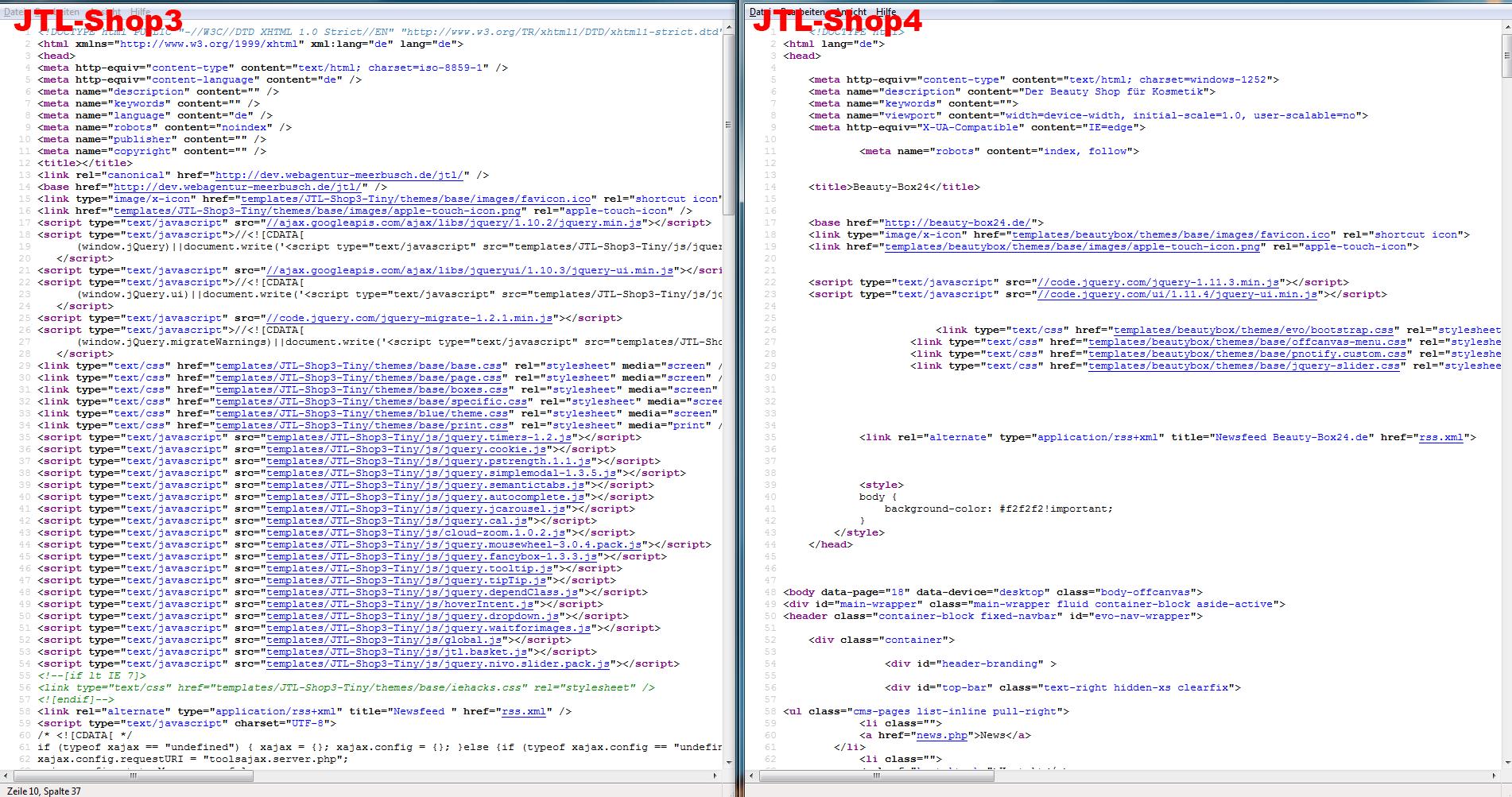 JTL-Shop4 Quellcode