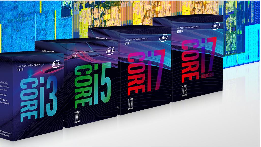 Die achte Generation Intel Prozessoren heißt Coffee Lake und reicht von i3 8300 bis i7 8700K
