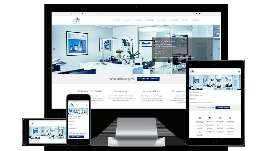Webdesign heymanns