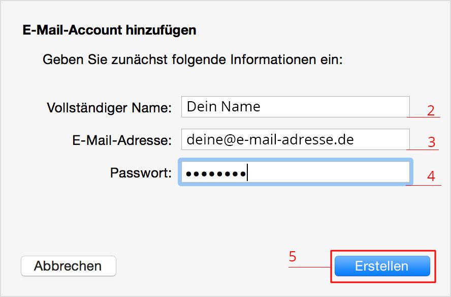 Apple Mail richtig an Plesk Server einrichten 1