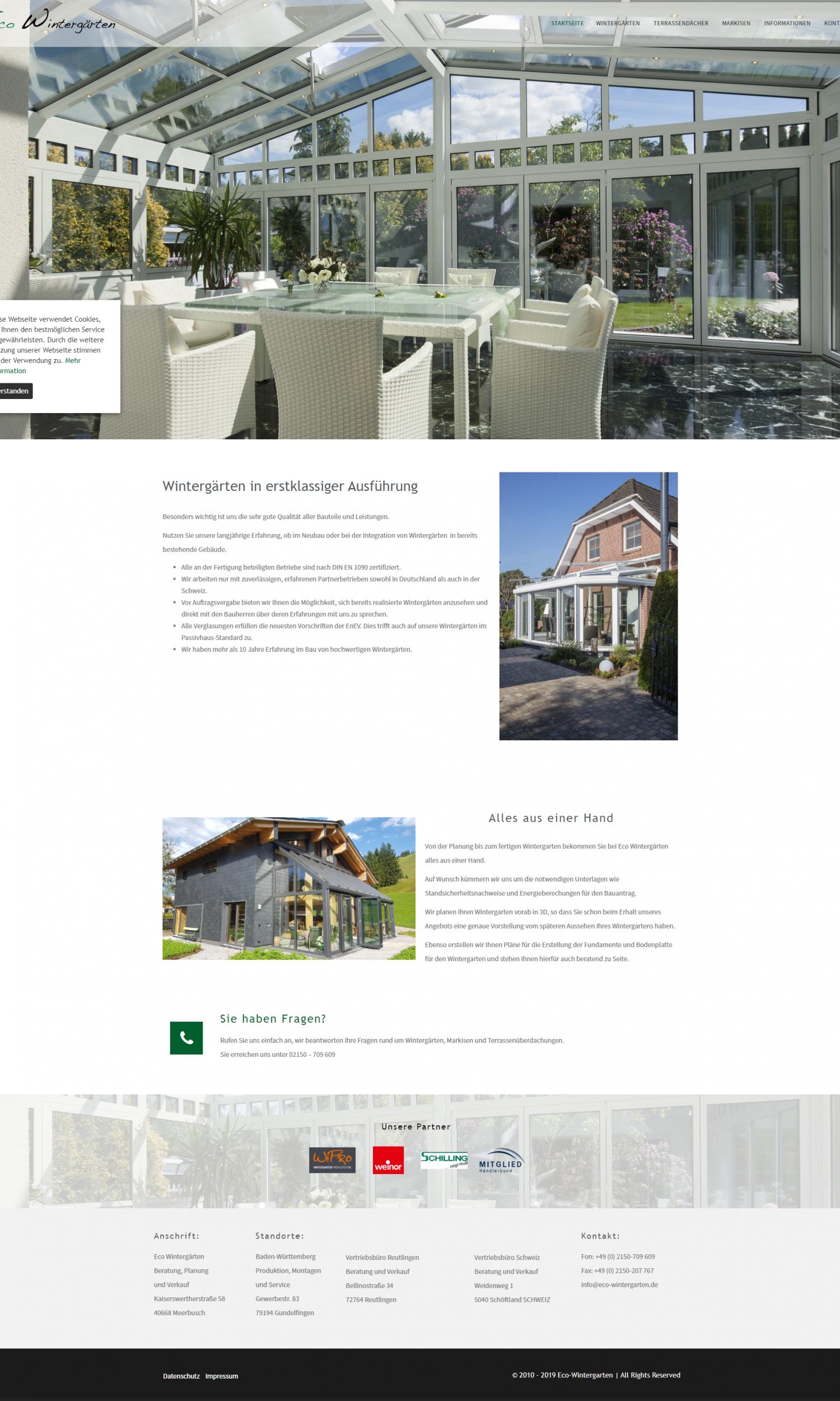 Eco Wintergärten - Wohnräume aus Holz, Aluminium und Glas_ - eco-wintergarten.de